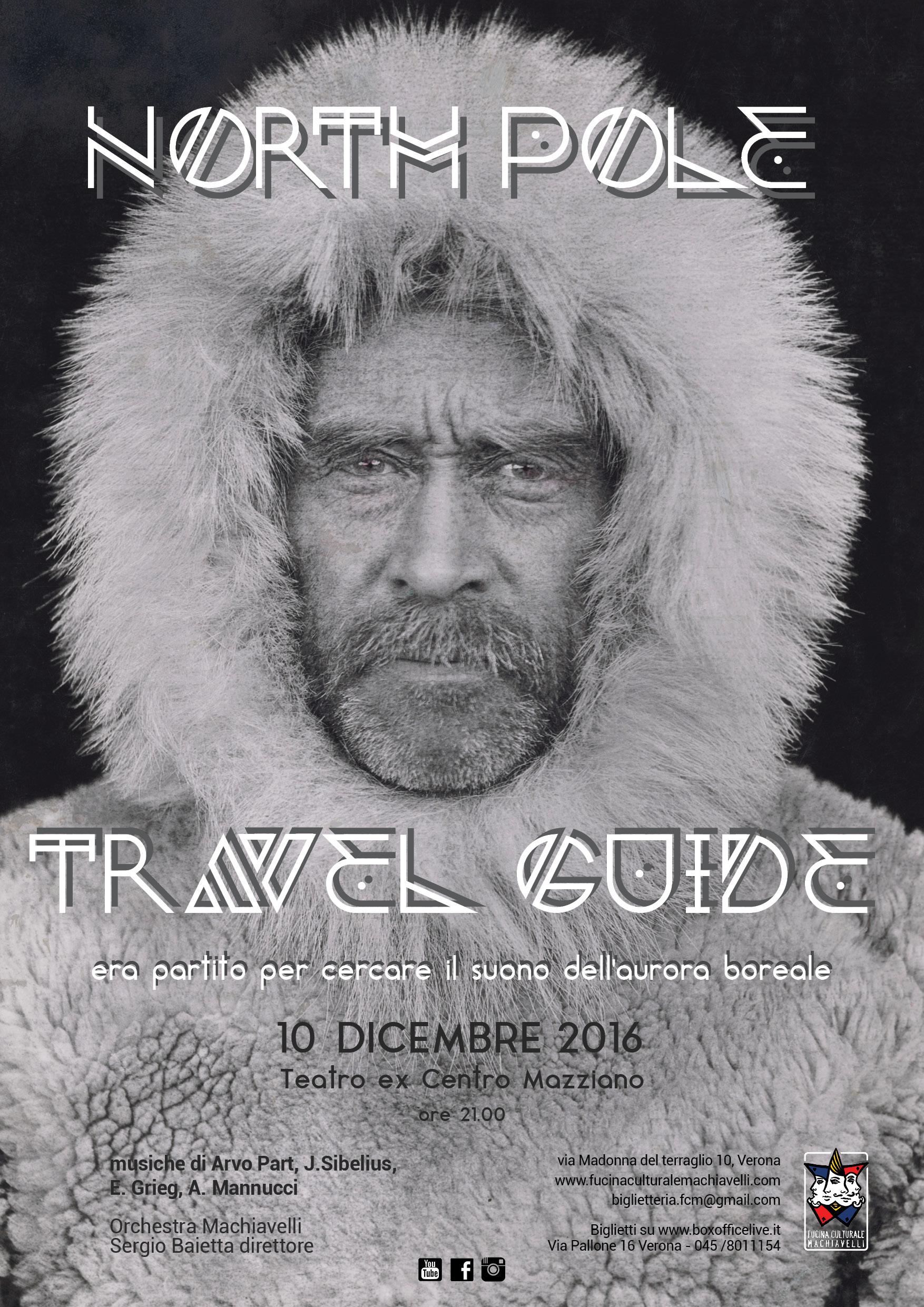 North pole travel guide il prossimo concerto dell'orchestra machiavelli a dicembre