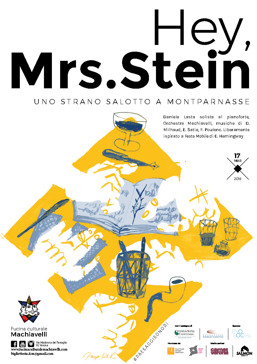 Locandina Hey, Mrs Stein