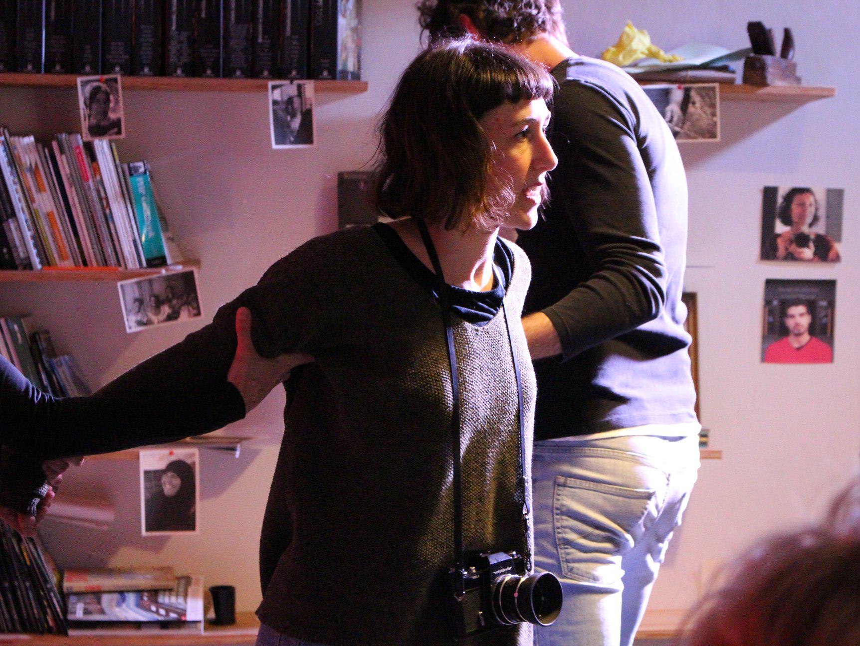 Anna Benico di Scena Machiavelli - Teatro Clandestino