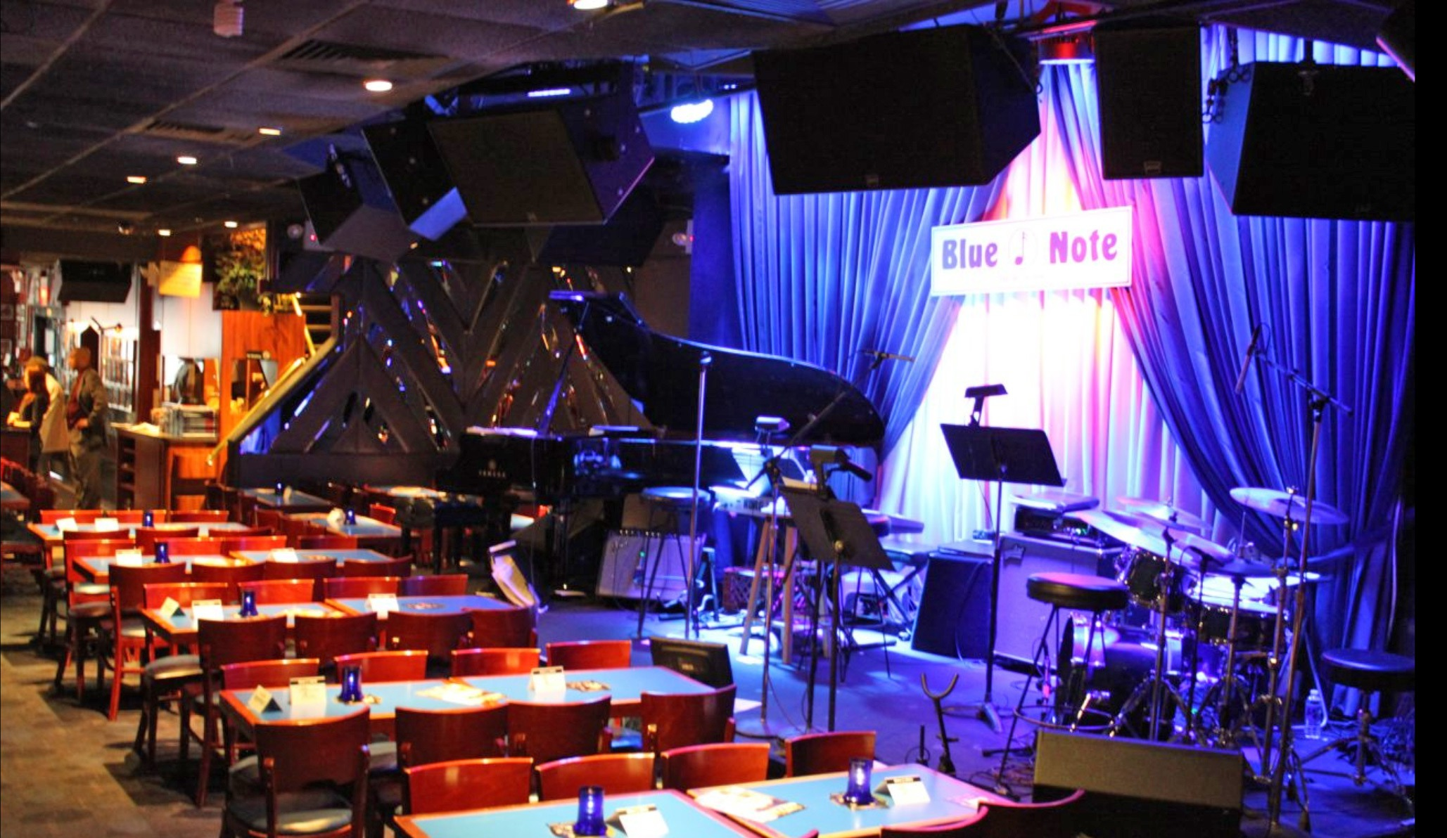 Sergio Baietta pianista al Blue Note di New York