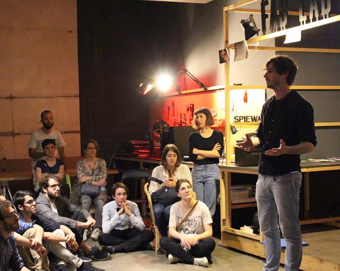 Stefano Zanelli di Scena Machiavelli - Teatro Clandestino