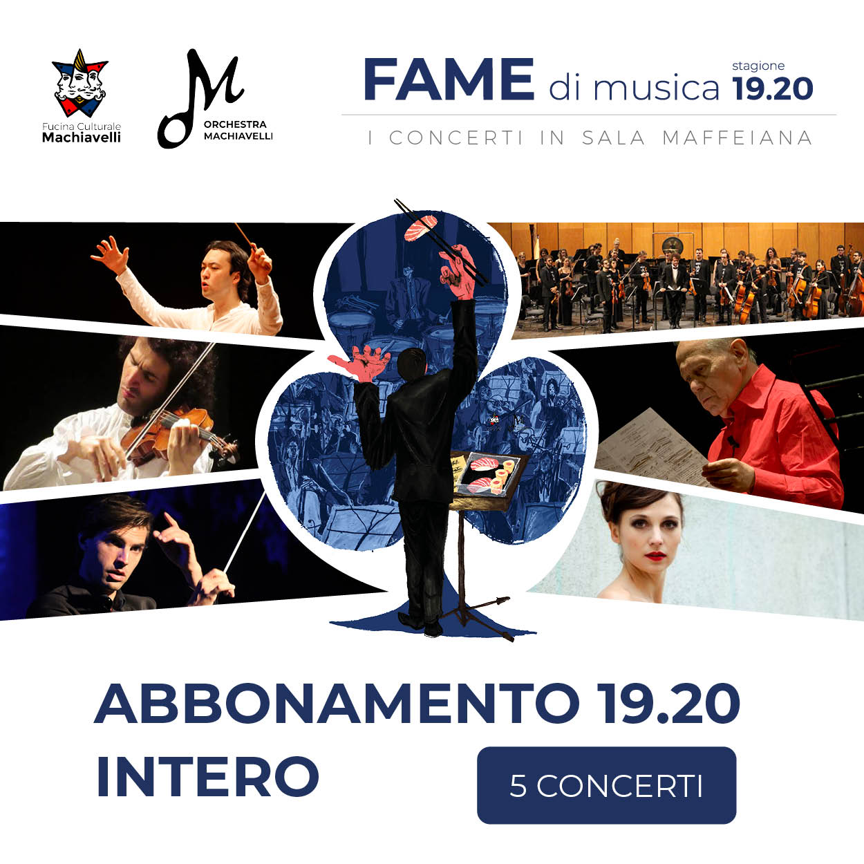 Abbonamento concerti Oechestra Machiavelli - Fame di musica - INTERO