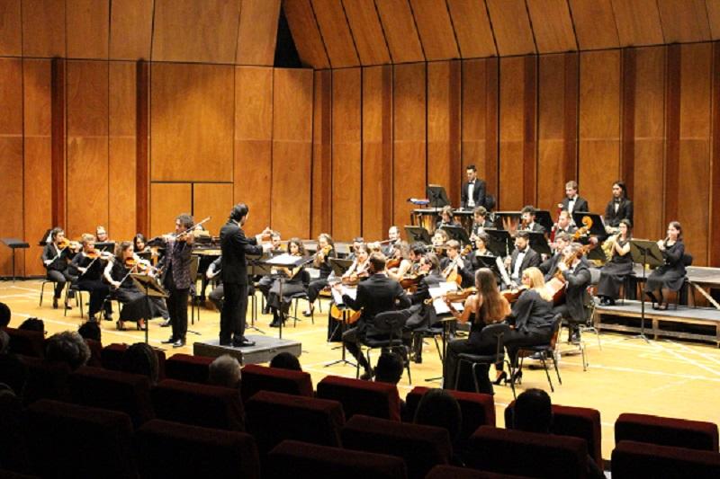 L'Orchestra Machiavelli di Verona in occasione dell'Inaugurazione-anno-beethoveniano, il 13 gennaio 2020. In Sala Filarmonica.