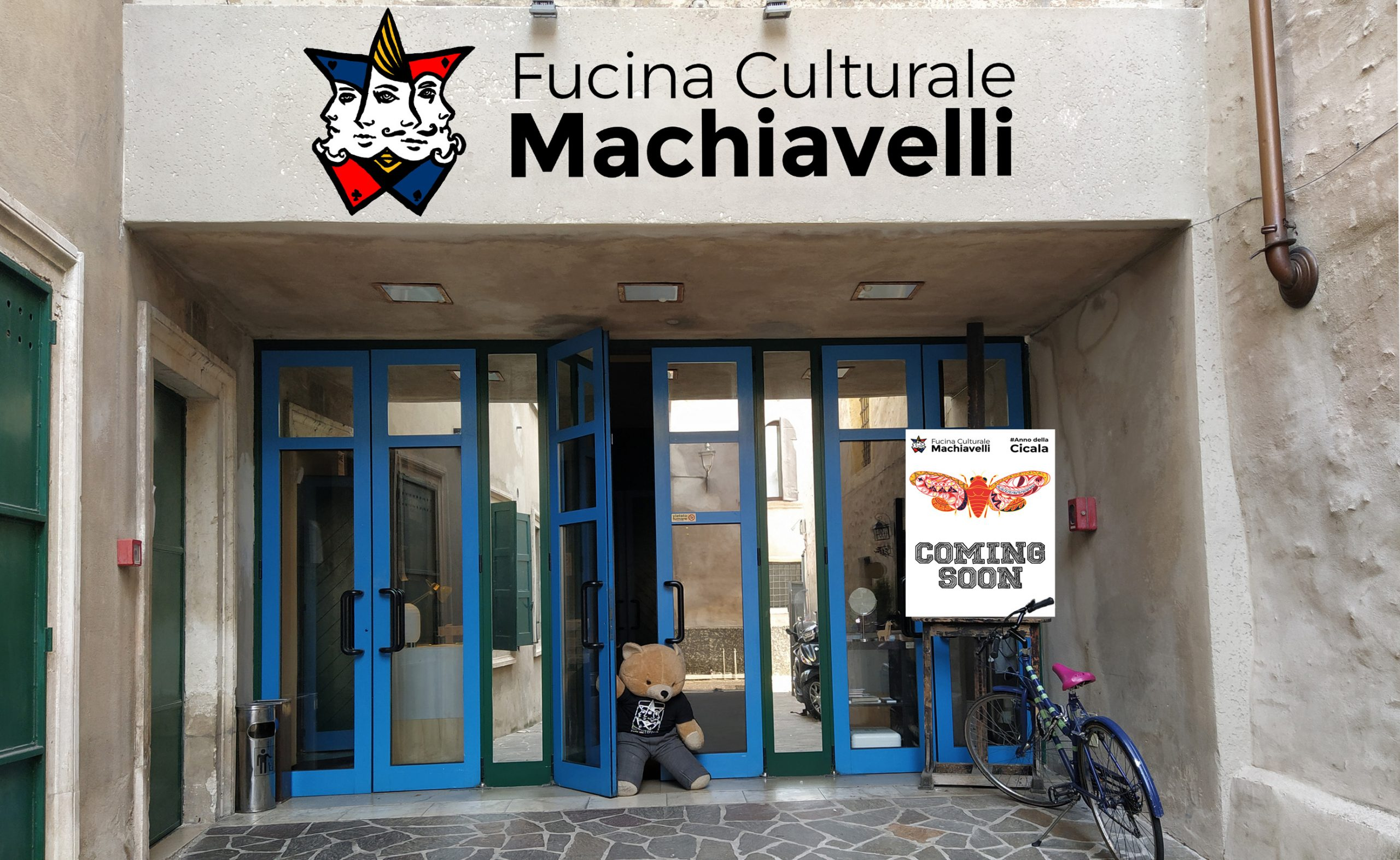 Contest Disegna la tua insegna - Fucina Culturale Machiavelli
